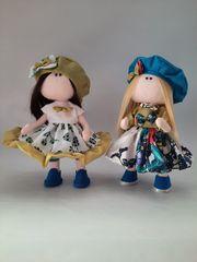 Puppe Stoffpuppe Textilpuppe Tilda Sammlerpuppe