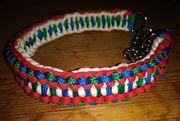 Hundehalsbänder aus Paracord PP-Seil verschiedene