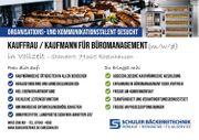Kauffrau Kaufmann für Büromanagement m