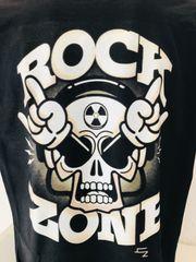 Tshirt Neu bedruckt Skull Rock