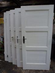 Alte Holztüren Zimmertüren antik Kassettentüren
