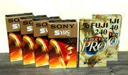 Videocassette SVHS 240 Minuten