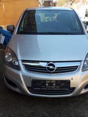 Paket- Opel Zafira 7-Sitzer und