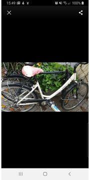 Frauen Fahrrad