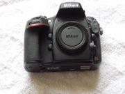 Nikon D800 Body mit 17561