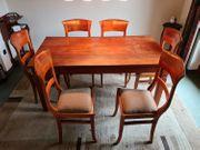 Esstisch Teakholz mit 8 Stühlen