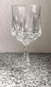 13 Sherry Gläser Bleikristall