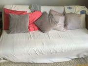 Couch Sofa Bett ausklappbar Schlafsofa