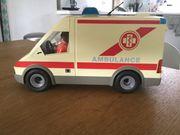 Playmobil-Krankenwagen aus den 80 er