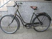 Oma Rad Oldtimer Damenfahrrad 28