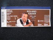 3 Konzertkarten für Roland Kaiser