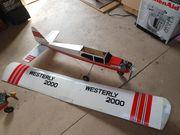 Modelflugzeug alt
