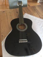 Gitarre schwarz 12EUR