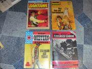 Alte Western und Krimi Hefte