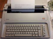 Elektrische Schreibmaschine - AEG Olympia Carrera