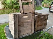 Schöne dokorative Holzkisten mit Griff