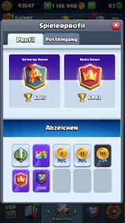 Clash Royal Account lvl13 6471