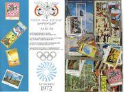 München 1972 - Olympia Album- Briefmarken