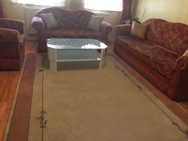 Sofa Set mit Bettfunktion und
