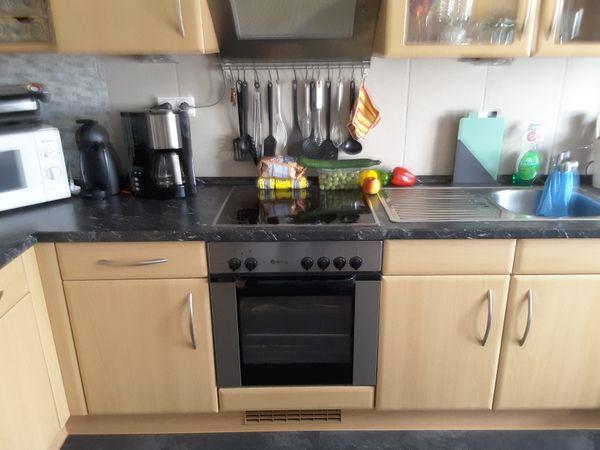 Küche L Form mit Theke und neuwertiger Siemens Spülmaschine ...