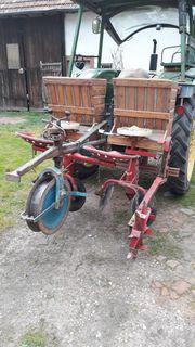 Rau Kombi Kartoffellegemaschine