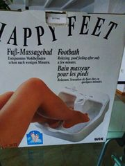 Fußmassage-Bad Happy Feet