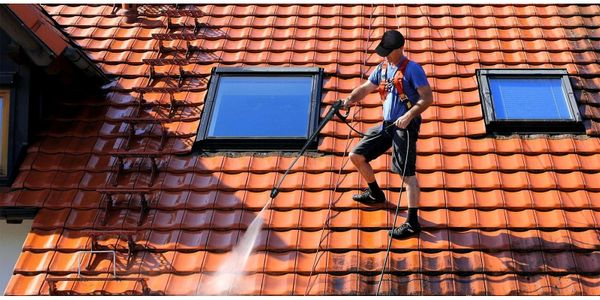Fassadenreinigung Steinreinigung Dachreinigung Maler