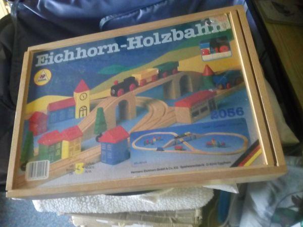 eichhorn holzeisenbahn m el lokomotive