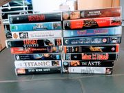 VHS Filme Kassetten Sammlung Hollywood