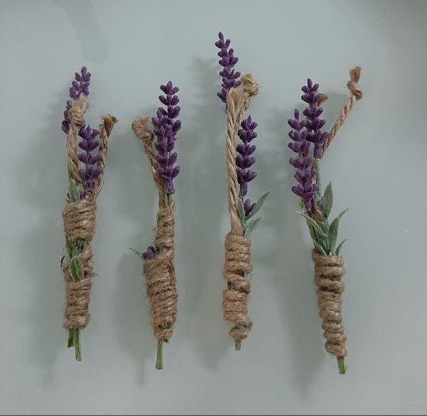 Lavendelblüten zum dekorieren basteln