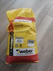 Weber Flexfuge 5kg zementgrau