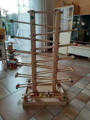 Kugelbahn 100 aus Holz von
