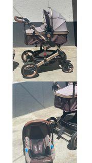 Babywagen 3 in 1