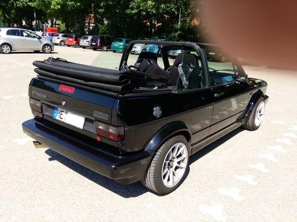 Liebhaberfahrzeug Golf 1 Cabrio