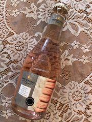 Hochzeit Gastgeschenk rosa Frucht-Wein Cocktail