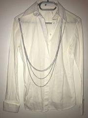weißes Hemd Bluse