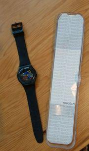 Uhr swatch - Herrenuhr mit schwarzem
