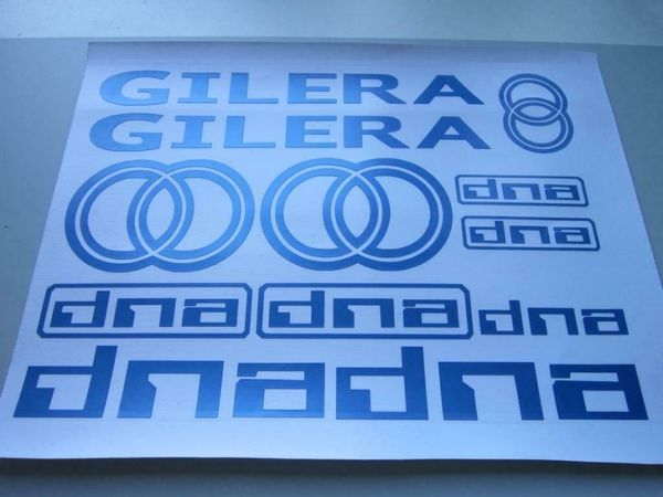 Gilera DNA Aufkleber Set verschiedene
