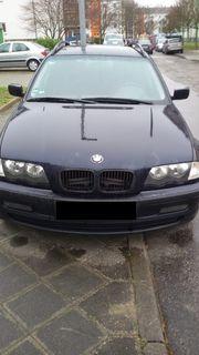 BMW 318I e46 Kombi mit