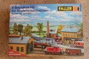 2 Faller Bausätze für Modelleisenbahn