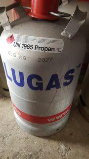 11 kg Alugasflasche