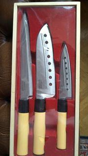 Neue Küchenmesser im Asiastil