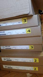 Kostenlos Ikea Kallax weiss Regal