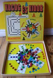 DDR Kinderspiel Blechspielzeug Magnet Mühle