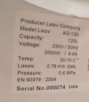 Warmwasserboiler 120 l