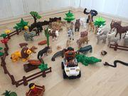 Zoofiguren von Schleich und Lego