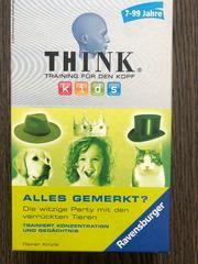 Ravensburger Spiel Think Alles gemerkt