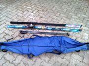 Angebot Skiset mit Bindung Skistöcke