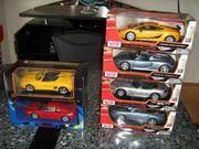 6 verschiedene Modellautos 1 18