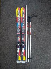 Kinderski-Set bestehend aus Ski und
